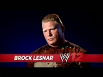 A video interview with Brock Lesnar